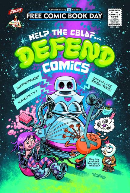 Help the CBLDF... Defend Comics