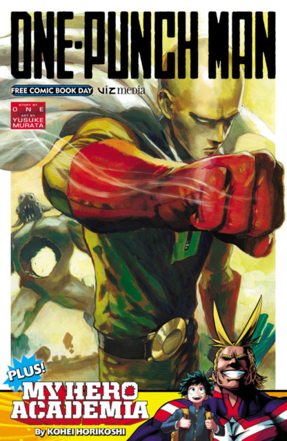 One Punch Man/My Hero Academia Free Comic Book Day