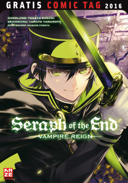 Seraph of the End - Vampire Reign Gratis Comic Tag 2016