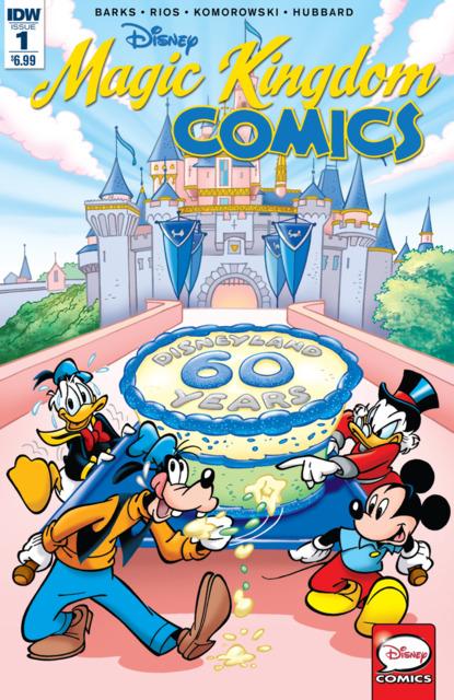 Disney Magic Kingdom Comics