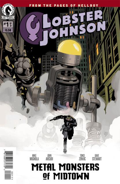 Lobster Johnson: Metal Monsters of Midtown
