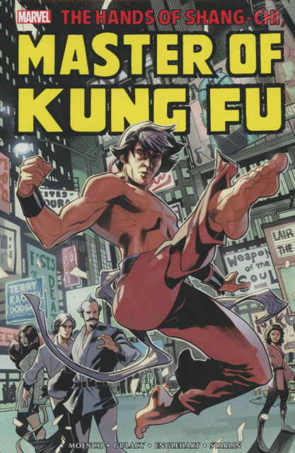 Shang-Chi Master of Kung-Fu Omnibus