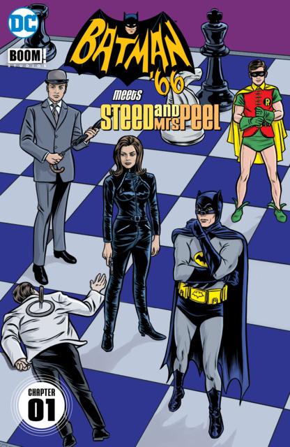 Batman '66 Meets Steed and Mrs Peel
