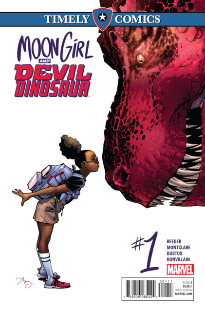 Timely Comics: Moon Girl and Devil Dinosaur