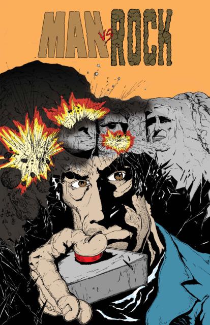 Man vs. Rock (IN COLOR!)