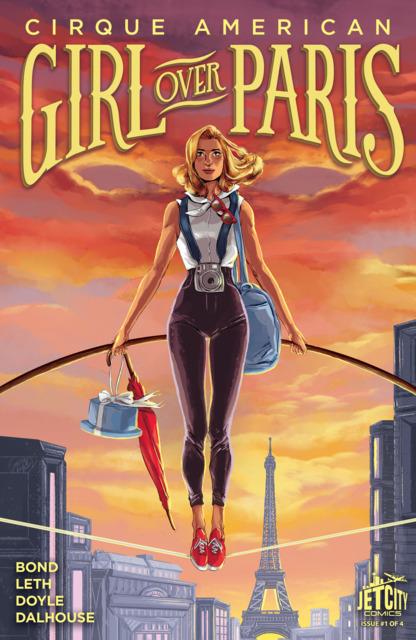 Girl Over Paris: The Cirque American Series