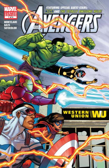 Avengers Featuring Hulk & Nova