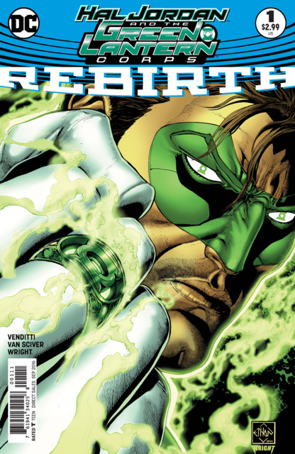 Hal Jordan and The Green Lantern Corps: Rebirth