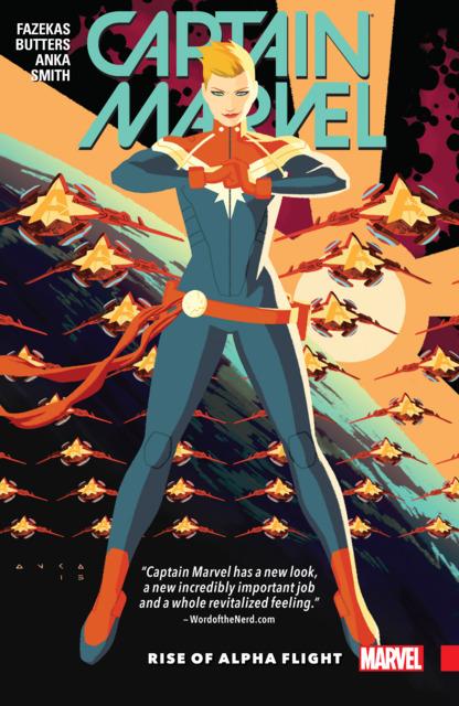 Captain Marvel: Rise of Alpha Flight