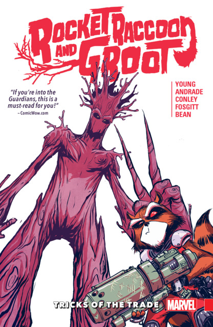 Rocket Raccoon & Groot: Tricks of the Trade