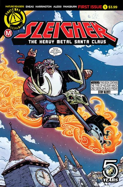 Sleigher: The Heavy Metal Santa Claus