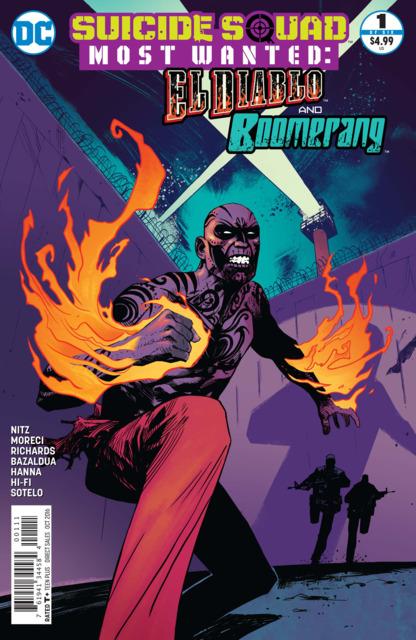 Suicide Squad Most Wanted: El Diablo & Boomerang
