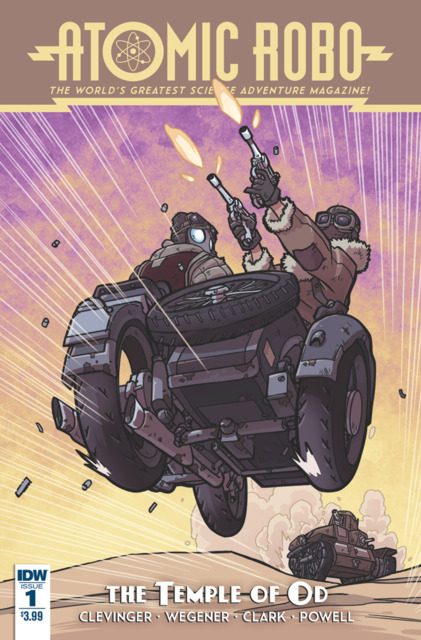 Atomic Robo and the Temple of Od