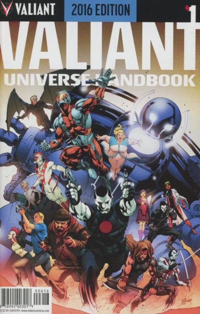 Valiant Universe Handbook 2016 Edition
