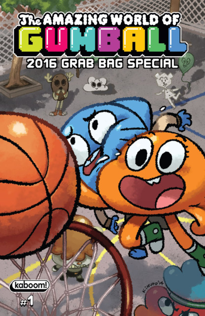 The Amazing World of Gumball 2016 Grab Bag Special