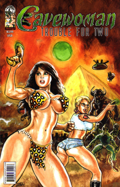 Cavewoman: Trouble For Two