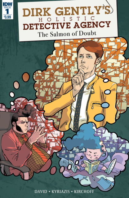 Dirk Gently's Holistic Detective Agency: The Salmon of Doubt