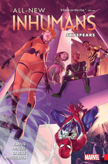 All-New Inhumans: Skyspears