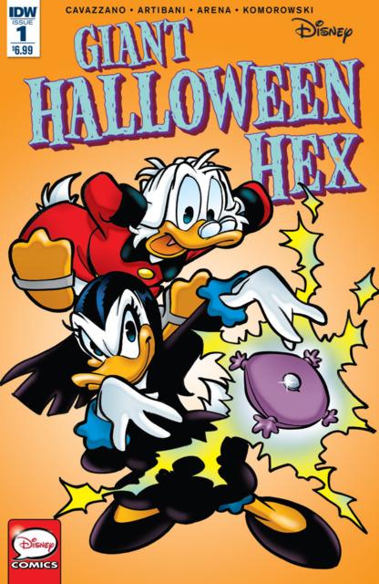 Disney Giant Halloween Hex