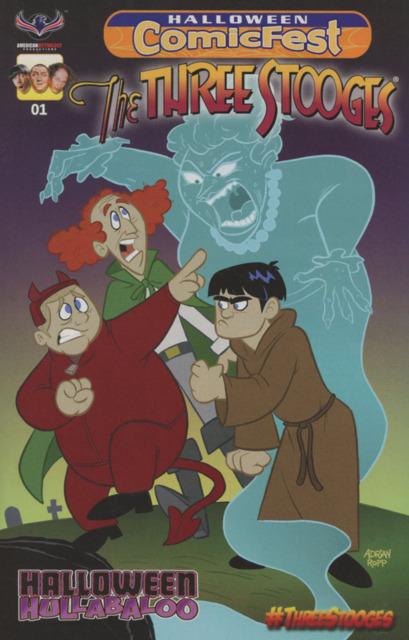 The Three Stooges: Halloween ComicFest