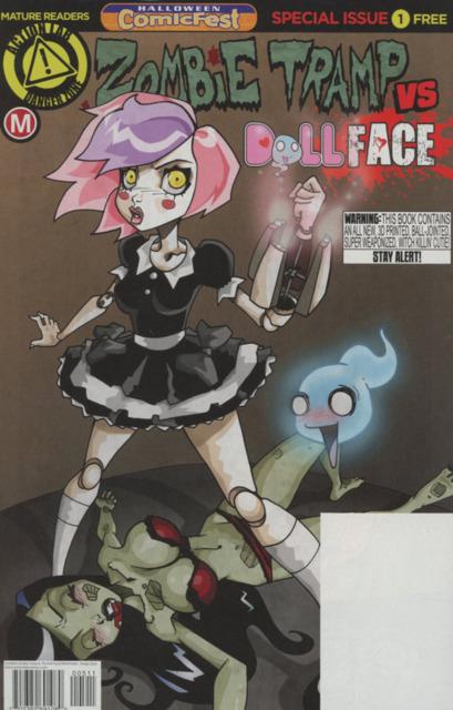 Zombie Tramp vs Dollface: Halloween ComicFest