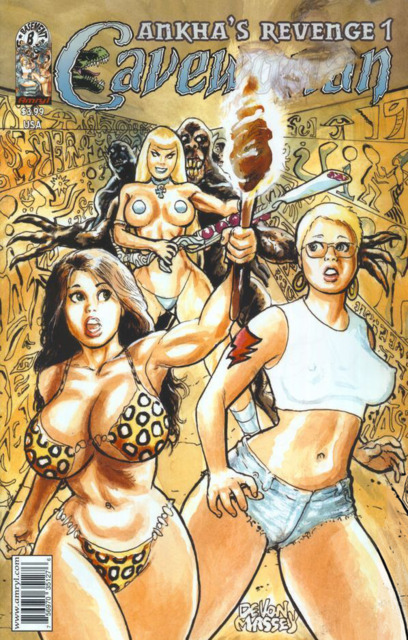 Cavewoman: Ankha's Revenge