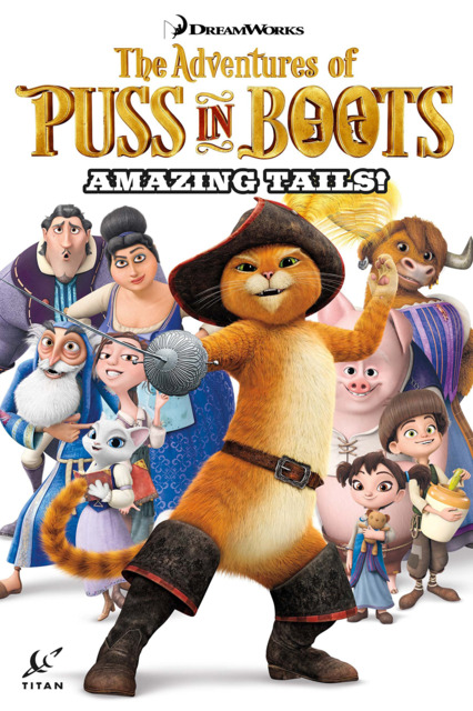 The Adventures of Puss In Boots: Amazing Tails!