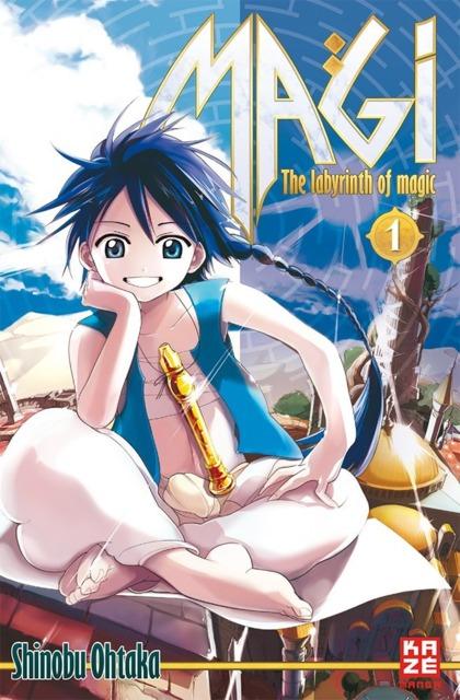Magi - The Labyrinth of Magic