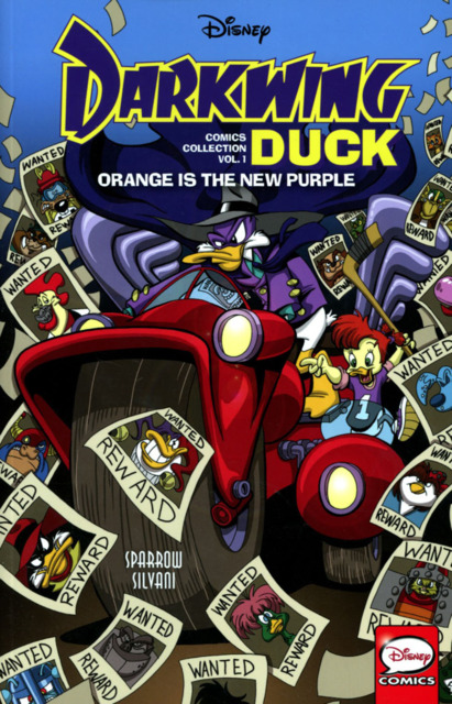 Disney Darkwing Duck Comics Collection: Orange Is the New Purple