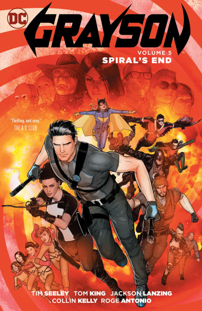 Grayson: Spiral's End