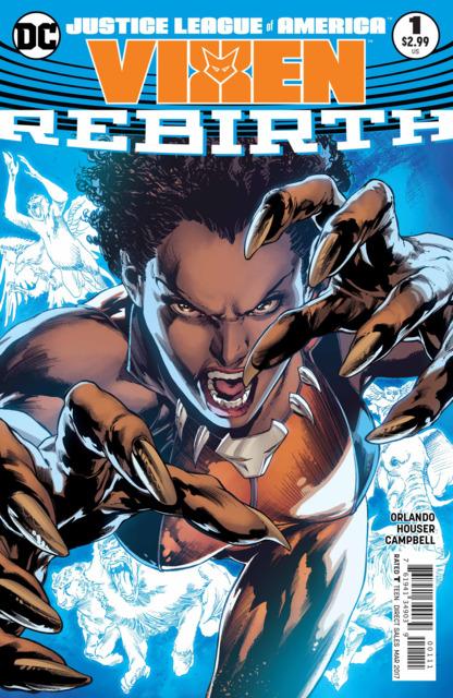 Justice League of America: Vixen - Rebirth