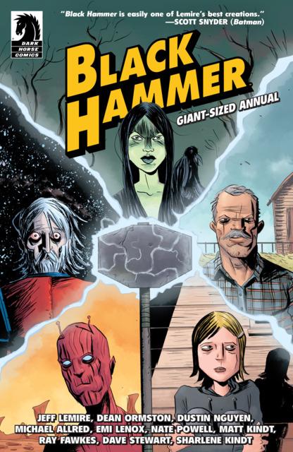 Black Hammer Giant-Sized Annual
