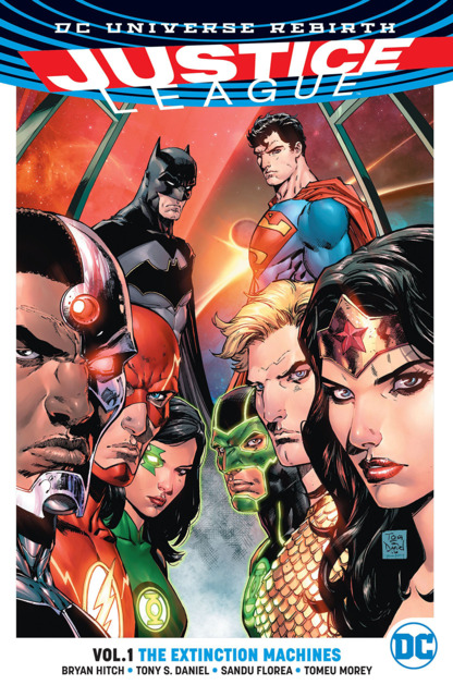 Justice League: The Extinction Machines