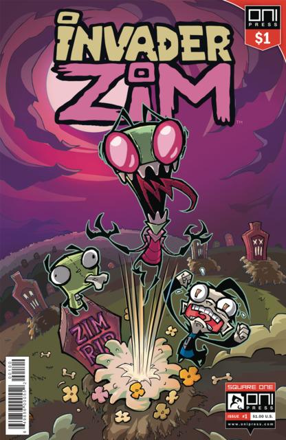 Invader Zim #1 $1 Dollar Edition
