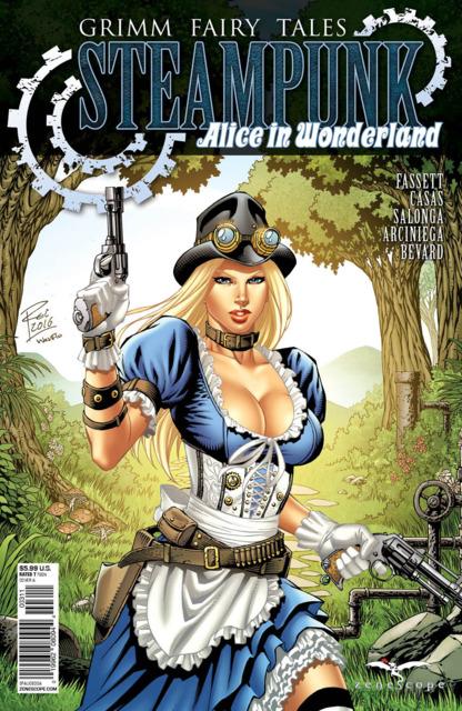 Grimm Fairy Tales Steampunk Alice in Wonderland One-Shot