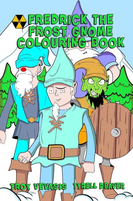 Fredrick The Frost Gnome Colouring Book