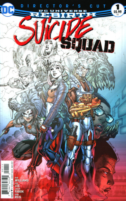 Suicide Squad #1 Director's Cut