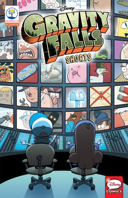 Gravity Falls Shorts Cinestory Comic