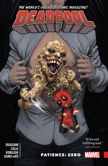 Deadpool: World's Greatest: Patience: Zero