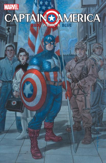 Captain America: Red, White & Blue