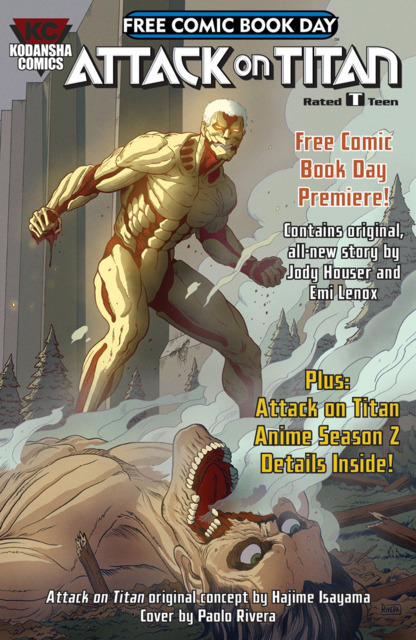Attack on Titan: Free Comic Book Day