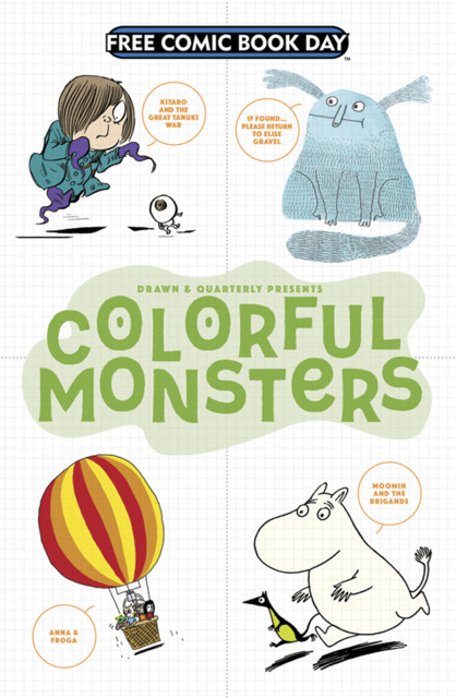 Drawn & Quarterly Presents Colorful Monsters