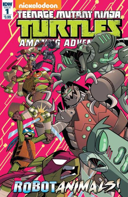 Teenage Mutant Ninja Turtles Amazing Adventures: RobotAnimals