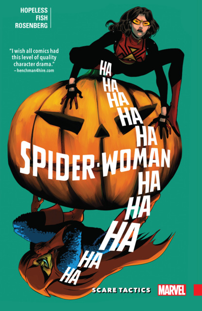 Spider-Woman: Shifting Gears: Scare Tactics