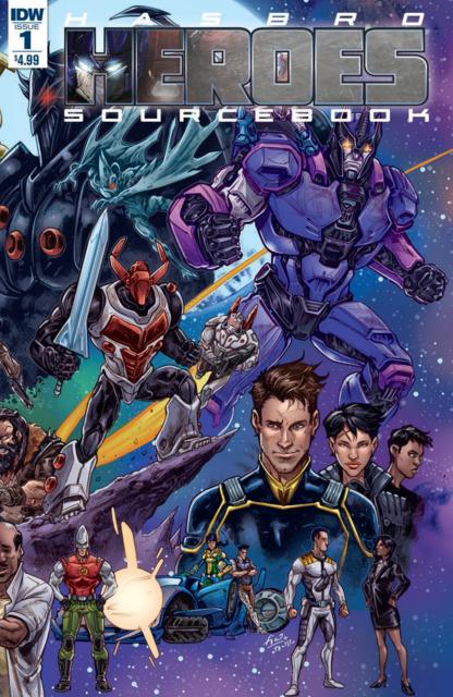 Hasbro Heroes Sourcebook 2017