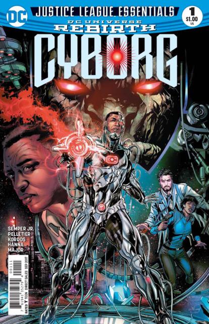 DC Justice League Essentials: Cyborg