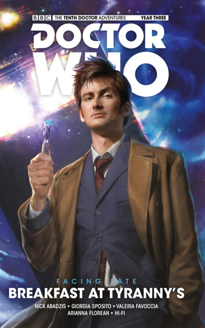 Doctor Who: The Tenth Doctor: Facing Fate: Breakfast At Tyranny's