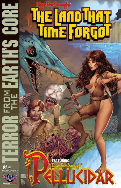 Edgar Rice Burroughs: The Land That Time Forgot/Pellucidar: Terror From The Earth's Core