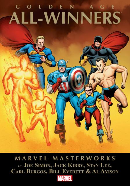 Marvel Masterworks: Golden Age All-Winners