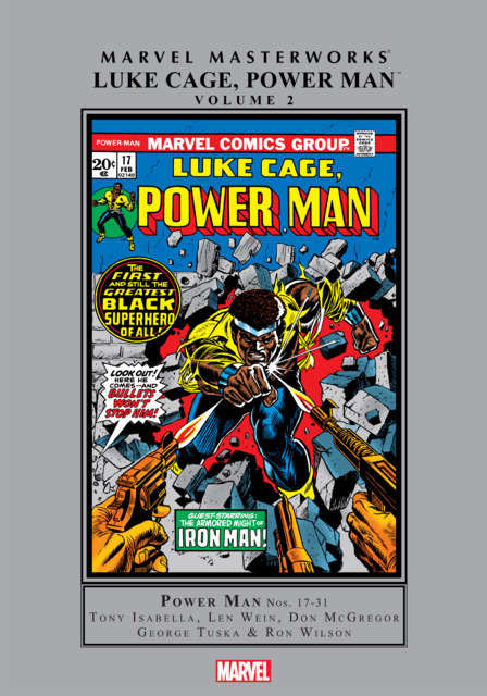Marvel Masterworks: Luke Cage, Power Man